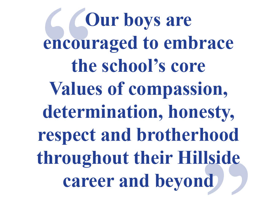 Hillside School mission quote