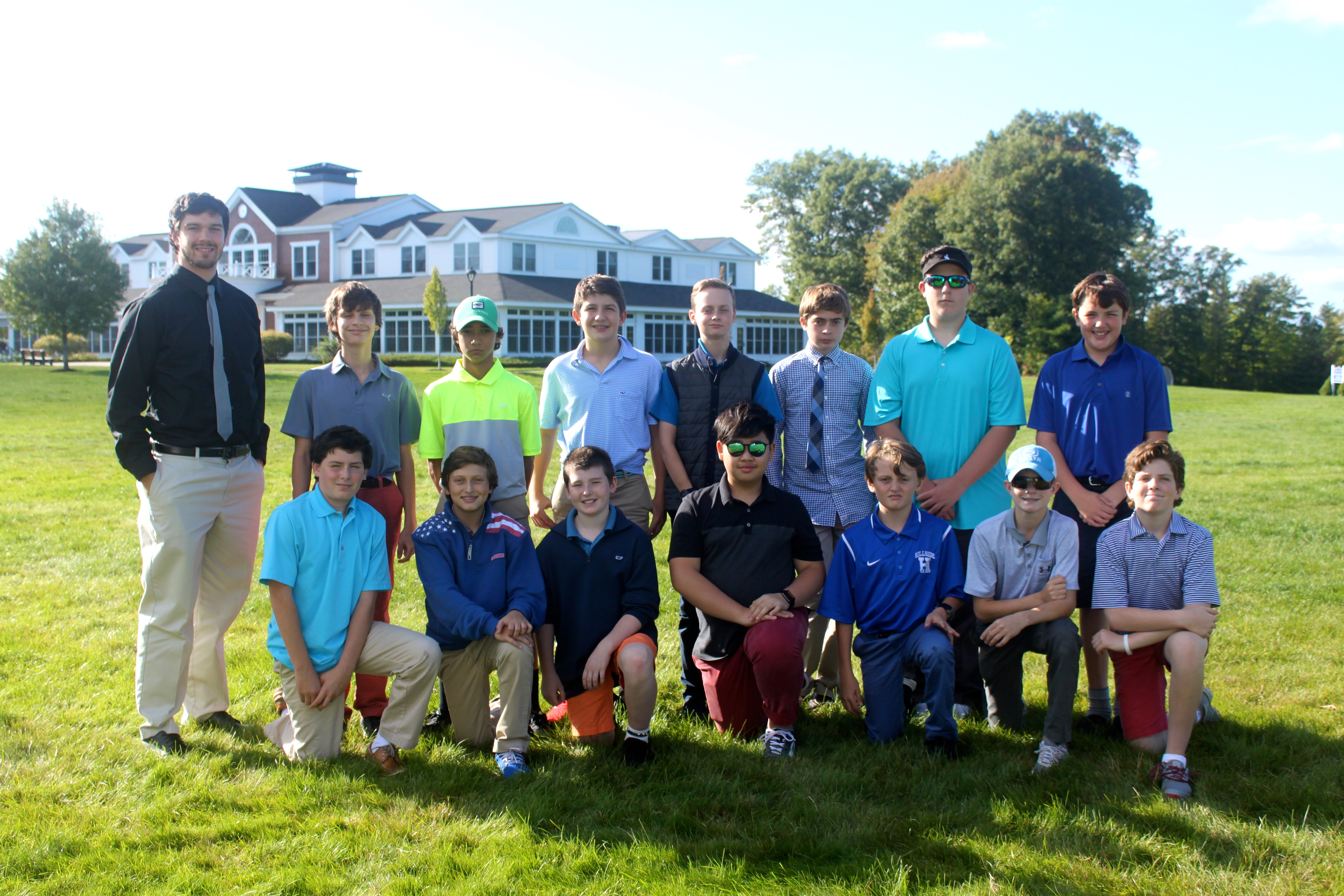 Hillside School Golf team