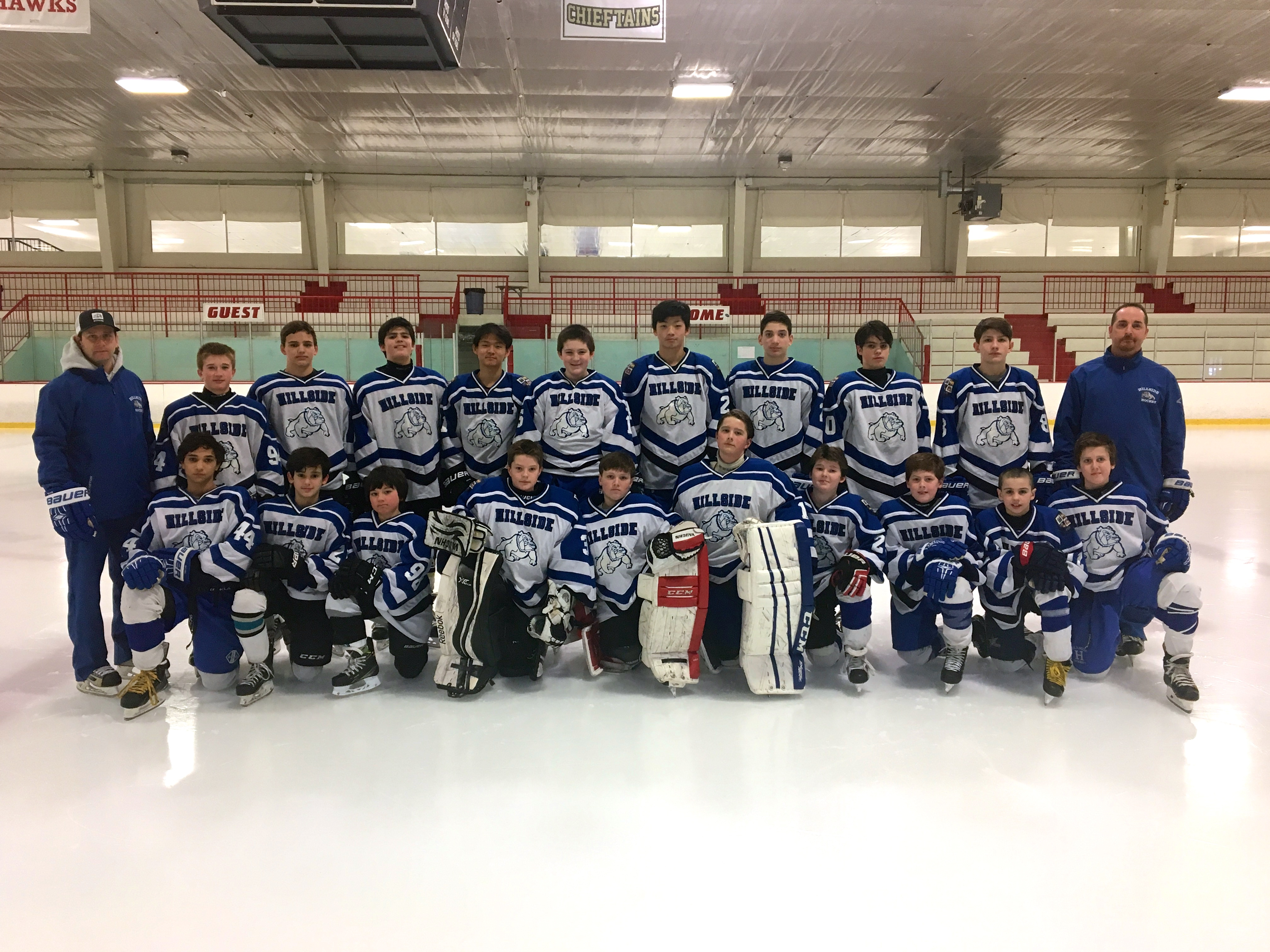 Hillside School Varsity Development Program Ice Hockey